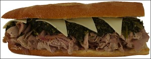 Tony Luke's Roast Pork - What a concept! It's filling and tasty. - Washington Post