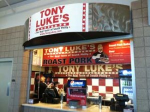 Tony Luke's - Wells Fargo Center Now Open!
