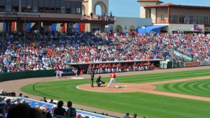 Tony Luke's mouthwatering sandwich, and a fan favorite, heads to spring training this season